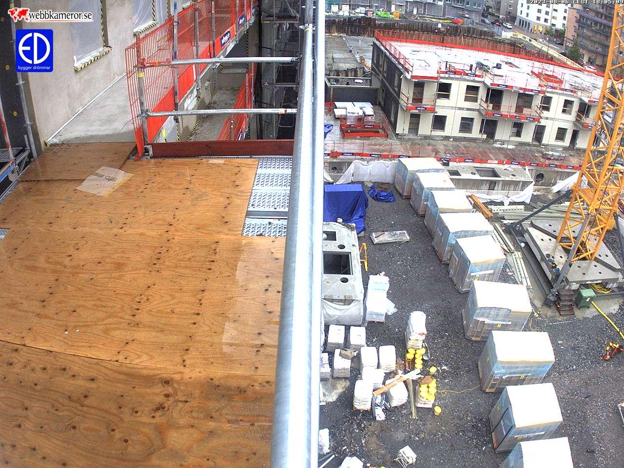 Webbkamera - Brf Norrskenet, Norrköping